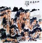 龚光万日志-国画山水画新作《山水清音》,搬家真痛苦且繁琐,新的根据地,试【图1】