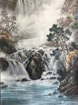 冯建德日志-庐山瀑布写生创作。路在自己脚下,只有自己强大才是唯一的出路。【图1】