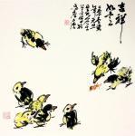 龚光万日志-国画花鸟画,回望曾经的作品,小《鸡》系列,7幅,供大家欣赏【图1】