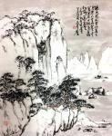 龚光万日志-回望曾经的作品国画雪景山水画系列《六出飞花入户时,坐看青竹变【图3】