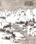 龚光万日志-回望曾经的作品国画雪景山水画系列《六出飞花入户时,坐看青竹变【图4】