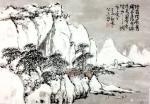 龚光万日志-回望曾经的作品国画雪景山水画系列《六出飞花入户时,坐看青竹变【图5】