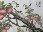 陈新兴日志-刚画完的创意''烟台苹果'',定制国礼画作品,欢迎朋友指教,【图3】