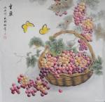 韩梅日志-工笔花鸟画欣赏《神仙伴侣》,《丰盈》,《清趣》,尺寸60×6【图2】
