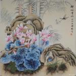韩梅日志-工笔花鸟画欣赏《神仙伴侣》,《丰盈》,《清趣》,尺寸60×6【图3】
