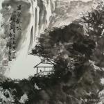 王东华日志-这几天的作品,请正之 书法扇面《清气如兰》《数风流人物还看【图5】