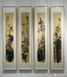 甘庆琼日志-关于写意画:中国画的用笔像老牛耕地,要把底土翻出来,沉着有力【图1】