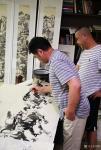 阎敏日志-酒后在朋友的画室里笔墨放纵了一下,如奔马自由驰骋,快意天地,【图4】