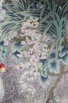 韩梅日志-我爱幽兰异众芳,不将颜色媚春阳。四尺斗方工笔画兰花《幽谷兰香【图2】