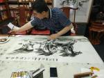 """刘建国日志-朝阳区''长春德苑""""笔会作品《马到成功》,《与你同行》,《雄【图3】"""