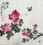 吴景砚日志-国画写意花鸟画新作《醉春》,《紫雪凝香》,《浩然正气》,请大【图3】