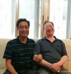 刘本镐生活-端午节,回武汉与恩师金云鹤教授,国家一级美术师、访美学者、著【图1】
