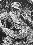 """马培童日志-25,突破焦墨画的""""无人之境""""龙门、云岗石窟 写生。 焦墨【图3】"""