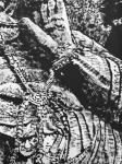 """马培童日志-25,突破焦墨画的""""无人之境""""龙门、云岗石窟 写生。 焦墨【图4】"""