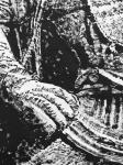 """马培童日志-25,突破焦墨画的""""无人之境""""龙门、云岗石窟 写生。 焦墨【图5】"""