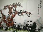陈金石日志-国画熊猫《盛世和谐》,熊猫之所以被人类喜欢认可,决不是她的外【图1】