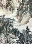 祝汉山日志-国画山水画《峰峰祥云升,壑壑流水声。千里不觉远,万也可征。》【图3】