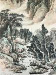 祝汉山日志-国画山水画《峰峰祥云升,壑壑流水声。千里不觉远,万也可征。》【图4】