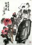 甘庆琼日志-缶翁功无敌,白石意难求,近世二峰矣! 不断向大师学习。【图2】
