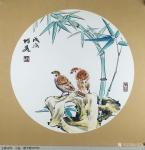 王君永日志-近期画了一批花鸟画斗方,尺寸50*50cm,请欣赏【图1】