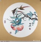 王君永日志-近期画了一批花鸟画斗方,尺寸50*50cm,请欣赏【图2】