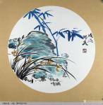 王君永日志-近期画了一批花鸟画斗方,尺寸50*50cm,请欣赏【图3】