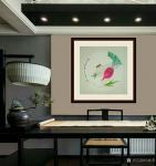 马新荣日志-《百财图》,箩卜白菜,各有所爱,工笔画小品5*50cm,喜欢【图4】