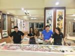 叶仲桥生活-昨天晚上(7月9日),中国石材石刻委员会领导一行到访我的工作【图4】