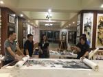 叶仲桥生活-昨天晚上(7月9日),中国石材石刻委员会领导一行到访我的工作【图5】