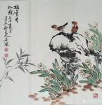吴景砚日志-《丹宝翠羽》,《乾坤清气》,《确实有仙境》,国画花鸟画小品三【图3】