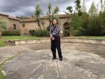 叶仲桥藏宝-专程拜访达芬奇的故乡—意大利佛罗伦萨.芬奇镇,周围是青山环抱【图5】