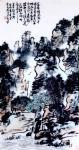 """龚光万日志-国画写意山水画""""万壑烟光动,千林雨气通。五冠西畔九龙东。水墨【图1】"""