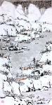 龚光万日志-天太热,来两幅国画雪景,降降暑,【图1】
