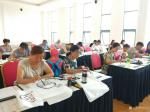 许贵才生活-在北京市房山区长阳美术馆教国画课!大家学习都非常认真。【图5】