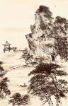 叶仲桥日志-每天一画《大美肇庆》初稿,规格58*34,国画写意山水画,请【图2】