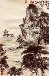 叶仲桥日志-每天一画《大美肇庆》初稿,规格58*34,国画写意山水画,请【图3】
