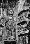 马培童日志-黑白力量、滋养灵魂。   爱上焦墨,画中国四大石窟,与佛教【图3】