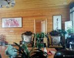 王立军藏宝-大庆净觉寺方丈会客室(随缘居)本人国画作品《红芦苇》【图2】