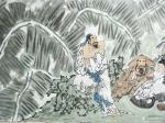 陈宏洲藏宝-《饮中八仙图》国画人物画,江苏黄耀振书家雅正,拖的太久见谅【图4】