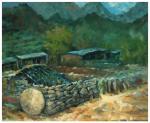 张健日志-以前的油画写生没有几幅了,这是留在库房里的一幅,这是2010【图1】
