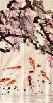 叶仲桥日志-国画花鸟画新作《锦上添花》,规格200*145cm,请欣赏【图1】