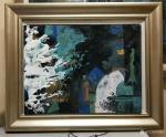刘晓宁荣誉-我创作的第一张和第二张岩彩画,当代艺术,你不用看懂,有人懂就【图2】
