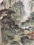 刘传军日志-308号作品《绿水青山气象新》,仿古山水画,绿水青山新气象。【图3】