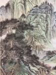 刘传军日志-308号作品《绿水青山气象新》,仿古山水画,绿水青山新气象。【图4】