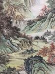 刘传军日志-308号作品《绿水青山气象新》,仿古山水画,绿水青山新气象。【图5】