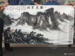 刘传军生活-为庆祝中国人民解放军成立91周年,应邀同高新美协的同志们来到【图4】