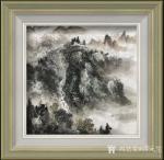 蒋元生日志-新作品展示《清泉出山涧》,《深山幽居图》,国画山水画,尺寸6【图1】