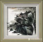 蒋元生日志-新作品展示《清泉出山涧》,《深山幽居图》,国画山水画,尺寸6【图2】