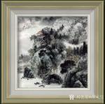 蒋元生日志-新作品展示《清泉出山涧》,《深山幽居图》,国画山水画,尺寸6【图4】