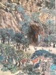 叶仲桥日志-《大美星湖》规格200*90cm,国画山水画,这两天就画了这【图3】